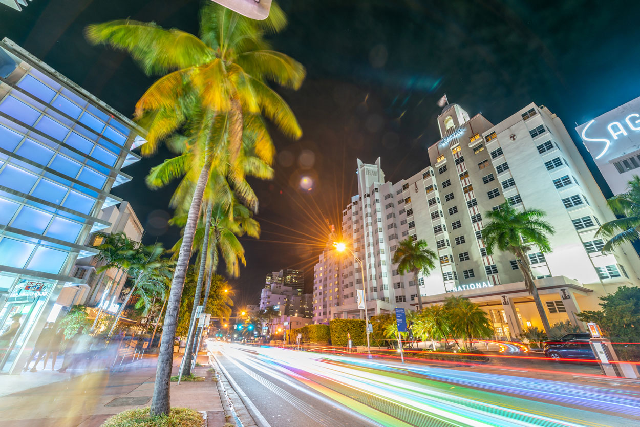 The National Hotel Miami Beach Collins Avenue