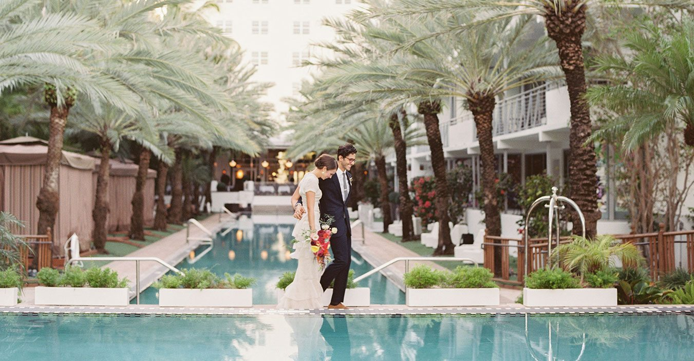 Weddings at The National Hotel Miami Beach