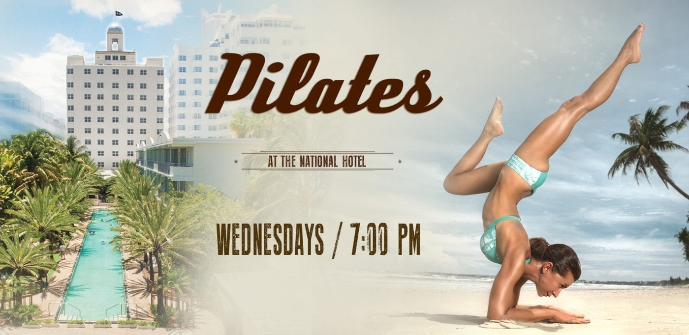 Pilates at the National Hotel