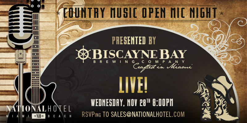 Country Music Open Mic