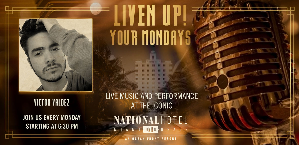 Live Music Mondays with Victor Valdez
