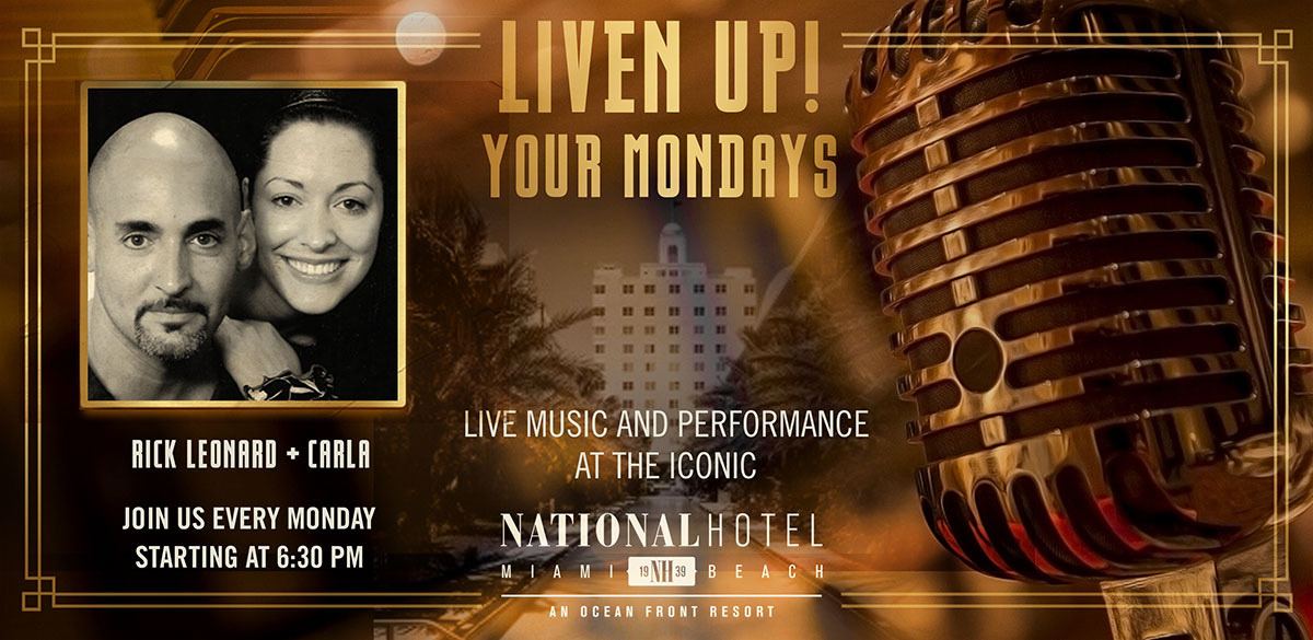Live music Miami Beach Mondays night