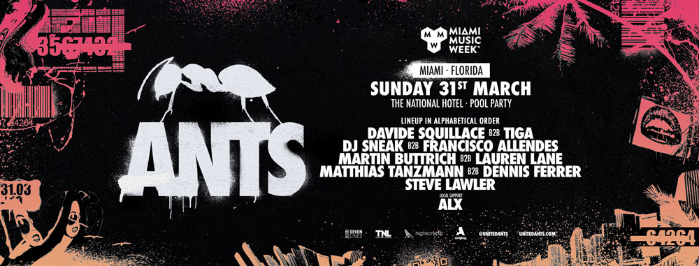 Ants Pool Party national hotel 2019