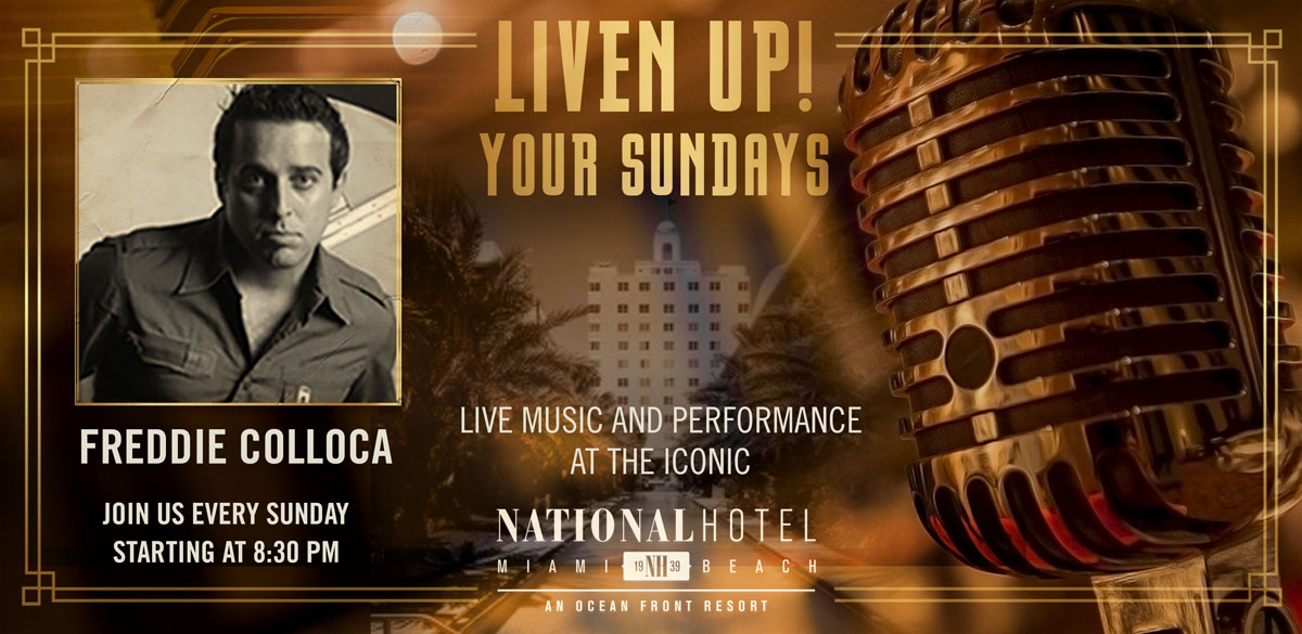 Sunday Live Music at The National Hotel