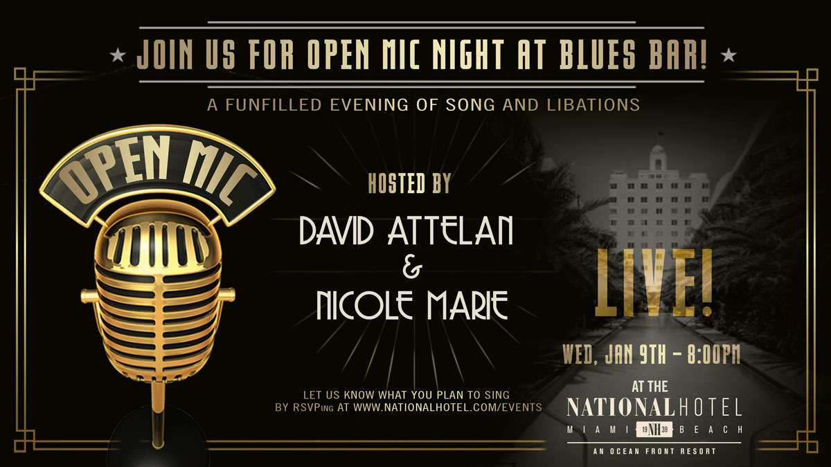 Open Mic Live at The National Hotel