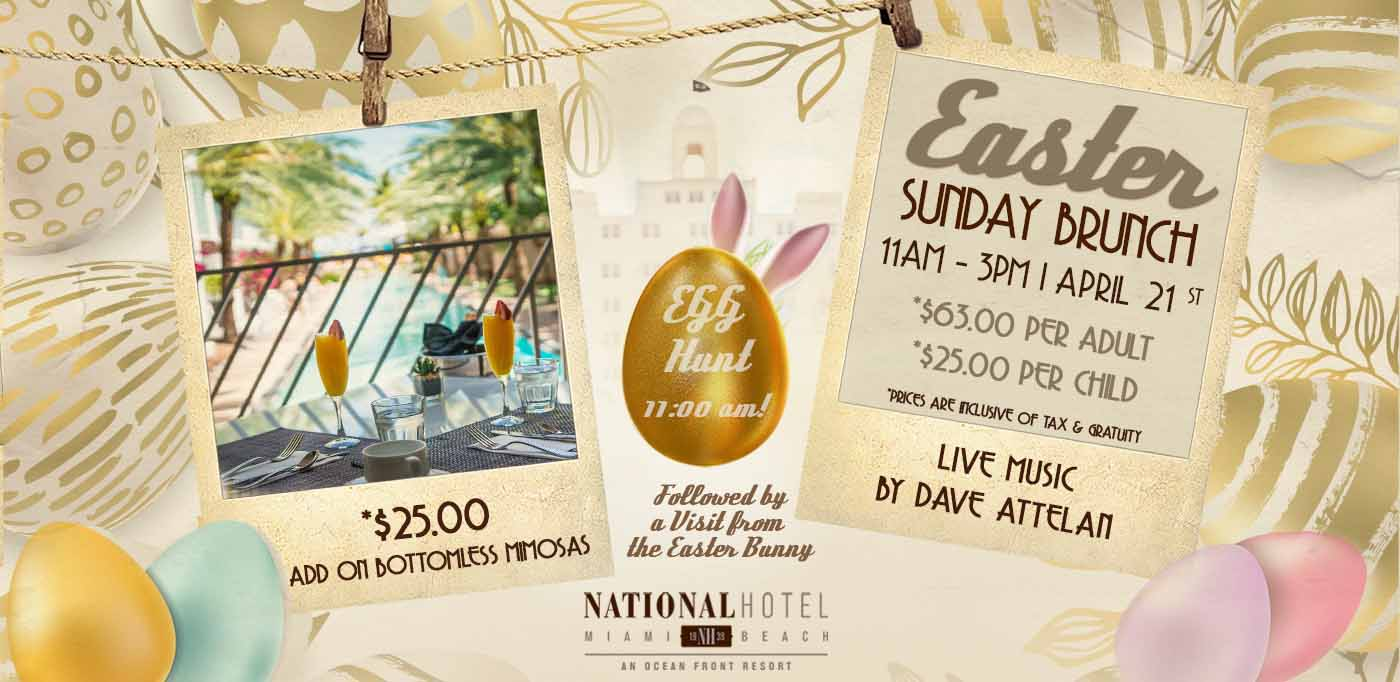 Easter Brunch at The National Hotel