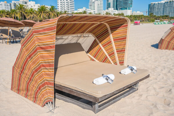 National Hotel Beach Cabanas