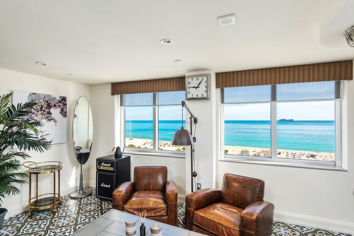 Penthouse Suite at the National Hotel Miami Beach
