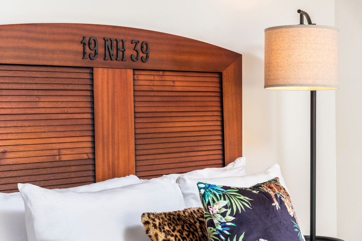 National Hotel Miami Beach Headboard